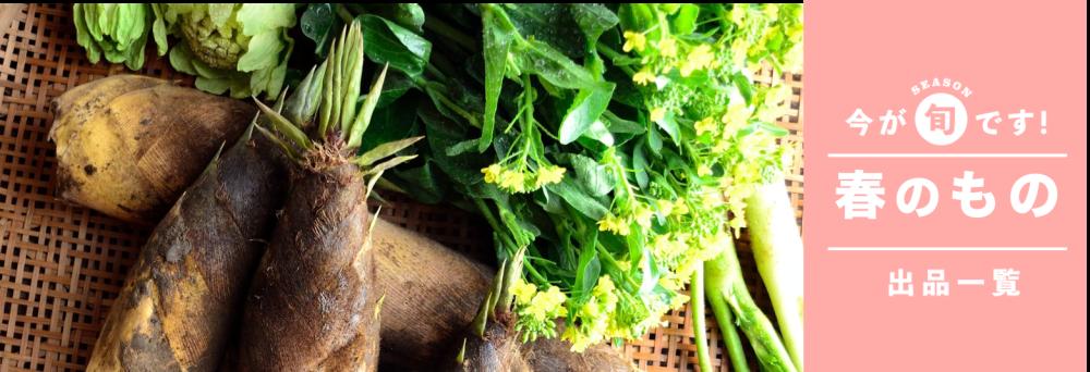 一覧 春 野菜